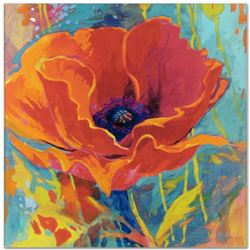 """""""Awakening on a Summer's Breeze"""" Limited Edition Giclee on Canvas by Simon Bull,"""