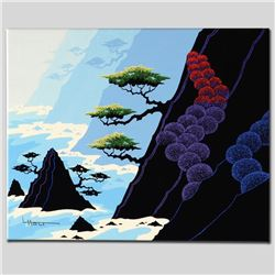 """""""Haystack Isle"""" Limited Edition Giclee on Canvas by Larissa Holt, Numbered and S"""