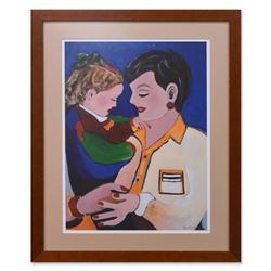 Jenik Cook, Framed Original Acrylic Painting, Hand Singed with Letter of Authent