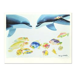 """Wyland and Tracy Taylor, """"Who Invited These Guys?"""" Limited Edition Lithograph, N"""