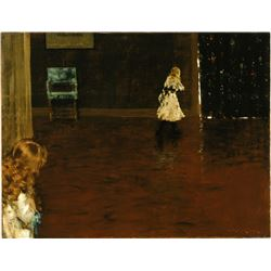 William Merritt Chase - Hide and Seek