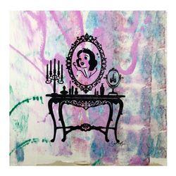 "Gail Rodgers, ""Mirror Mirror"" Hand Signed Original Hand Pulled Silkscreen Mixed"
