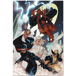 """Marvel Comics """"X-Men #7"""" Numbered Limited Edition Giclee on Canvas by Chris Bach"""