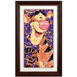"""David Willardson, """"Rock & Roar"""" Limited Edition Serigraph, Numbered and Hand Sig"""