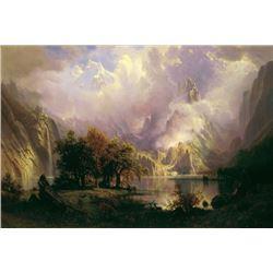 Bierstadt - Rocky Mountain Landscape