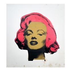 """Steve Kaufman (1960-2010), """"Marilyn Monroe"""" Hand Signed and Numbered Limited Edi"""