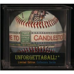 """Unforgettaball! """"Candlestick Park"""" Collectable Baseball"""