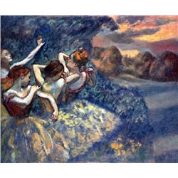 Edgar Degas - Four Dancers