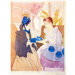 Mary Cassatt - Tea In The Afternoon
