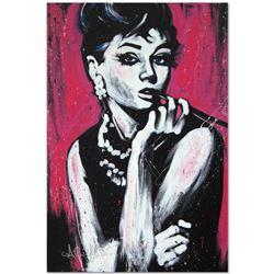 """Audrey Hepburn (Fabulous)"" Limited Edition Giclee on Canvas by David Garibaldi,"