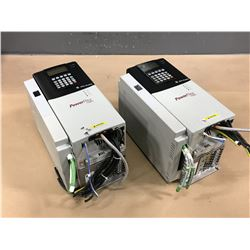 (2) ALLEN BRADLEY 20D D 022 A 3 EYNADACE VARIABLE SPEED DRIVE