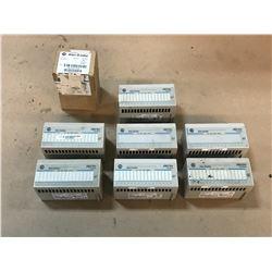 LOT OF ALLEN BRADLEY 1794-IB16 / 1794-OB16P FLEX I/O MODULE