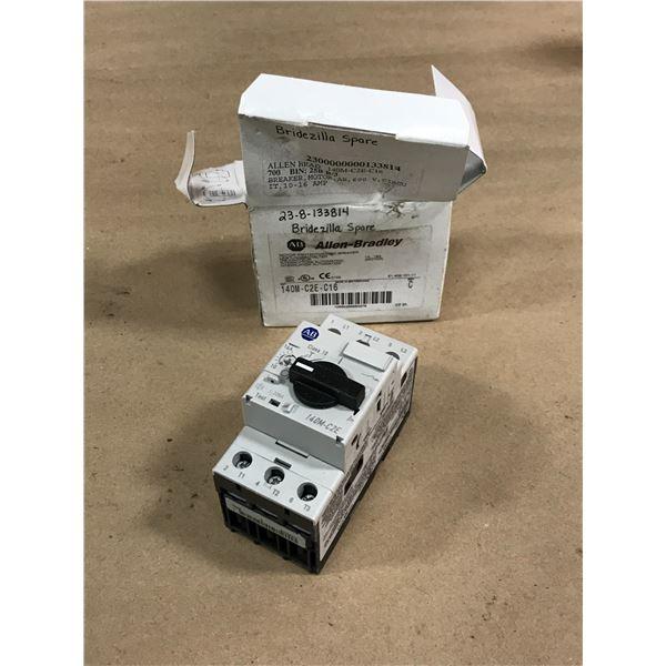 ALLEN BRADLEY 140M-C2E-C16 CIRCUIT BREAKER