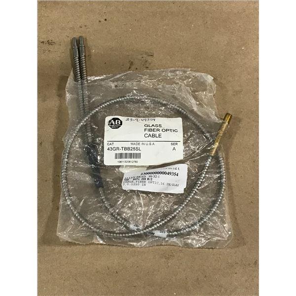 ALLEN BRADLEY 43GR-TBB25SL FIBER OPTIC CABLE