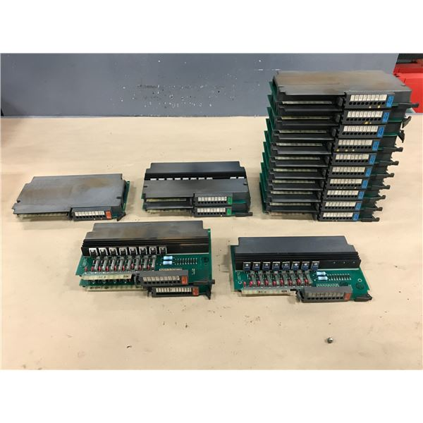 LOT OF ALLEN BRADLEY I/O MODULE *SEE PICS FOR PART #*