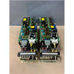 (2) - FANUC A06B-6047-H002 VELOCITY CONTROL UNITS