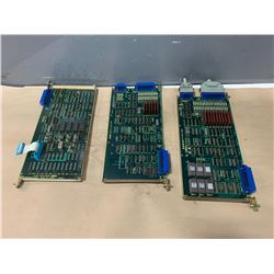 LOT OF FANUC CIRCUIT BOARDS - SEE PICS FOR BOARD NUMBERS