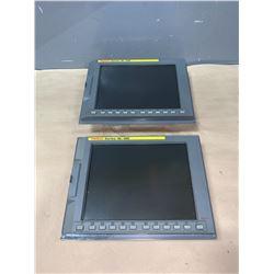 """(2) - FANUC A02B-0281-C072 10.4"""" FA-LCD UNIT_SERIES 18i-MB"""