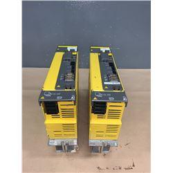 (2) - FANUC A06B-6127-H207 aiSV 40/40HV  SERVO DRIVES