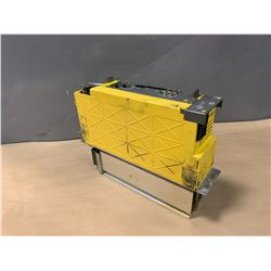 FANUC A06B-6114-H211 aiSV 160/160 DRIVE (PLASTIC FRAME IS DAMAGED)
