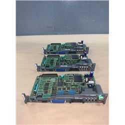 (3) - FANUC A16B-3200-0450/07G CIRCUIT BOARDS