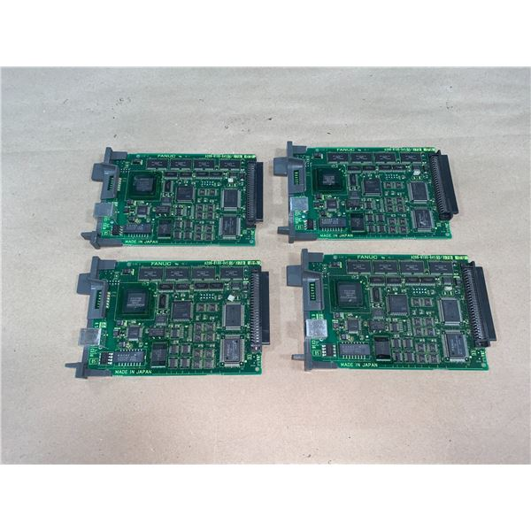 (4) - FANUC A20B-8100-0450/07B CIRCUIT BOARDS
