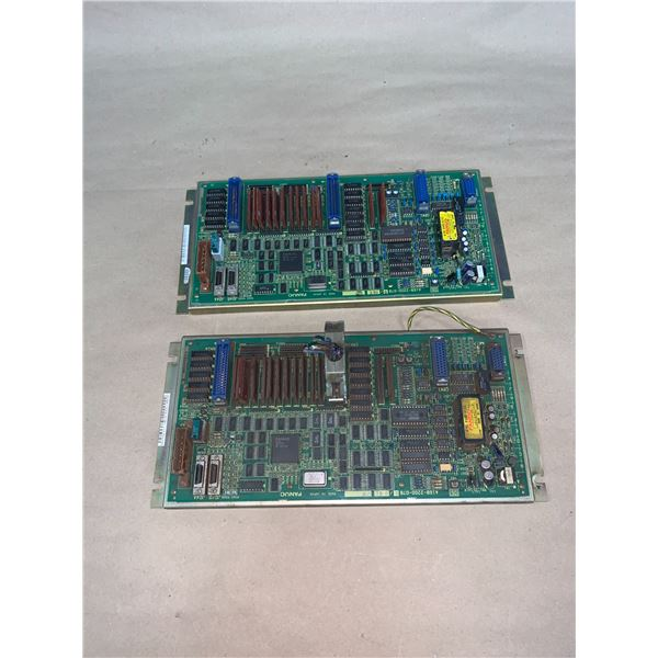 (2) - FANUC A16B-2200-0780/06C CIRCUIT BOARDS