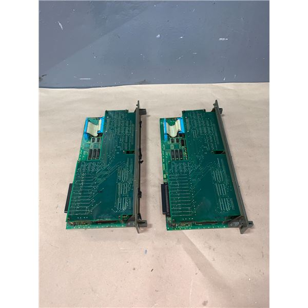 (2) - FANUC A16B-2200-095/05A CIRCUIT BOARDS