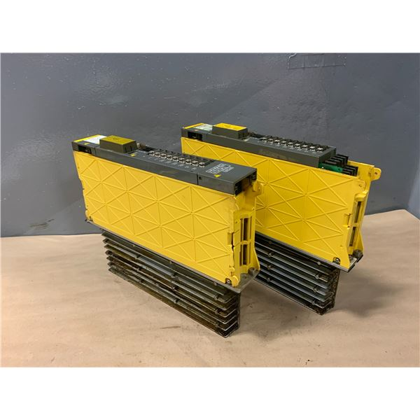 (2) - FANUC A06B-6079-H206 SERVO AMPLIFIER MODULES