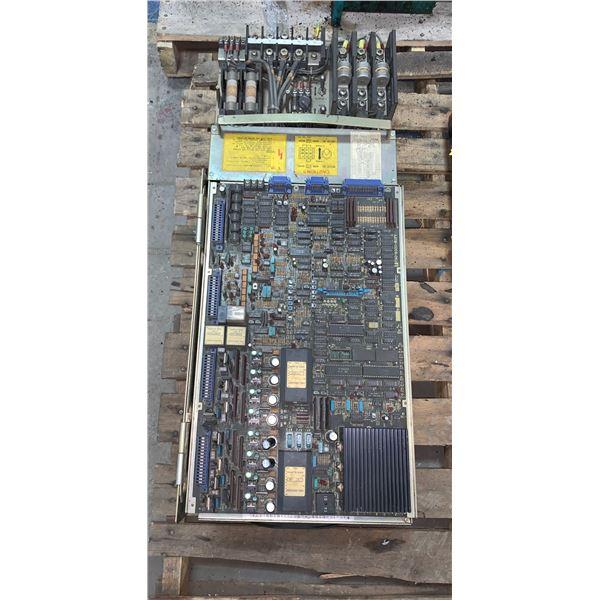 FANUC A06B-6044-H048 AC SPINLDE SERVO UNIT