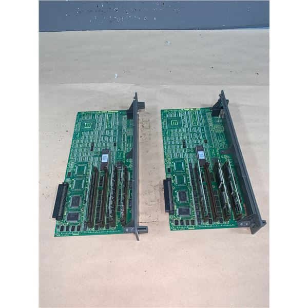 (2) - FANUC A16B-2200-0917/04A CIRCUIT BOARDS