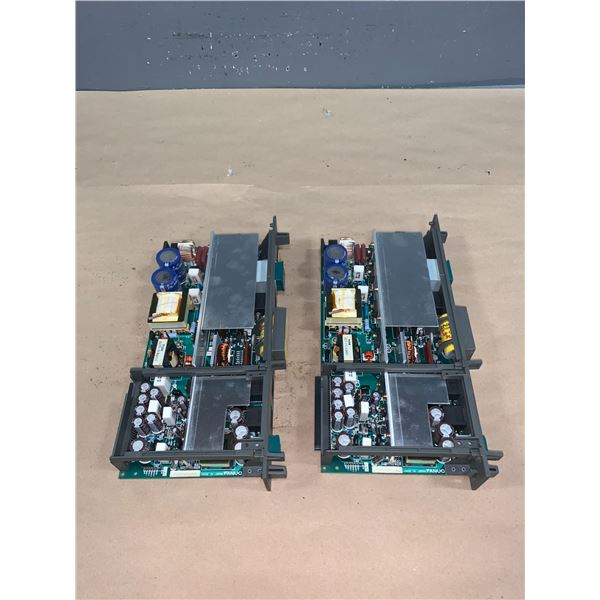 (2) - FANUC A16B-1212-0531/01A CIRCUIT BOARDS