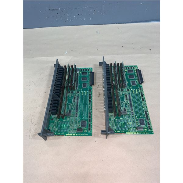 (2) - FANUC A16B-2200-0931/07B CIRCUIT BOARDS