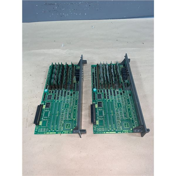 (2) - FANUC A16B-2200-0942/07A CIRCUIT BOARDS