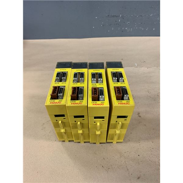 (4) - FANUC A03B-0807-C011 AIF01A MODULES