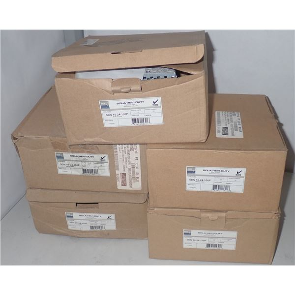 Lot of (5) Sola #SDN-10-24-100P