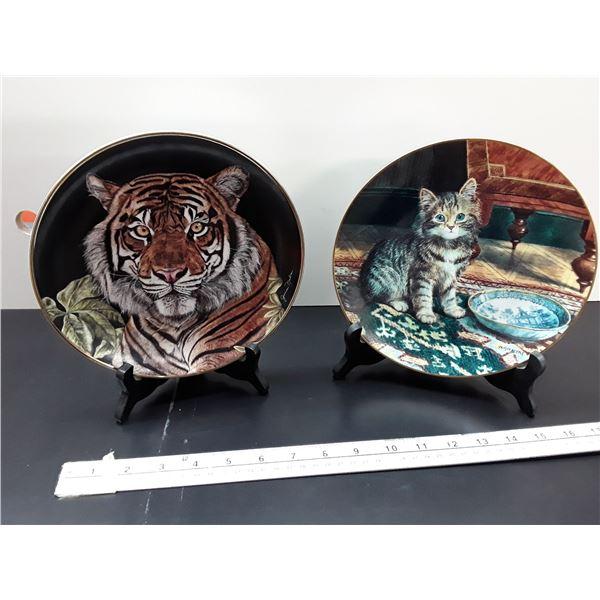 Decorative plates of Cats