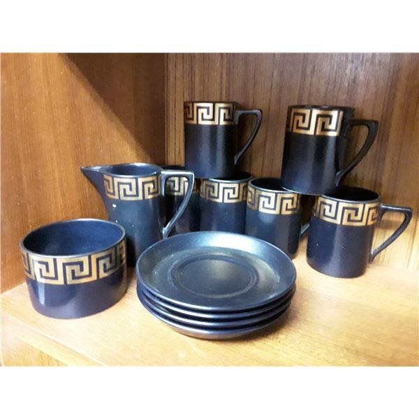 60's Style Coffee Set