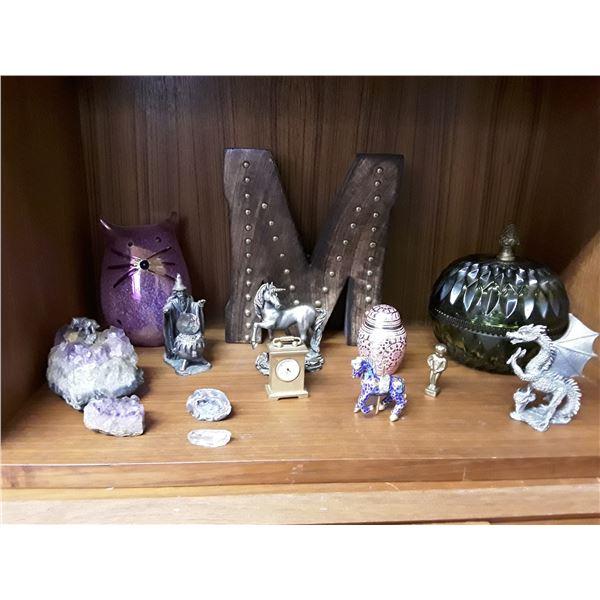 Lot of Misc Decorative Figurines