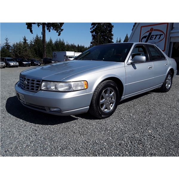 """A1 --  1998 CADILLAC SEVILLE STS , Silver , 163266  KM's """"NO RESERVE"""""""