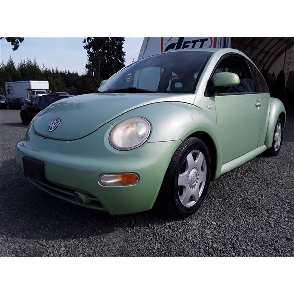 C4 --  2000 VW BEETLE GLS  , Green , 170755  KM's