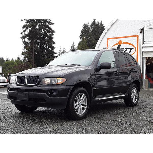 E2 --  2004 BMW X5 3.OI , Black , 195296  KM's
