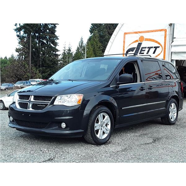 H3 --  2011 DODGE GRAND CARAVAN CREW , Grey , 161339  KM's