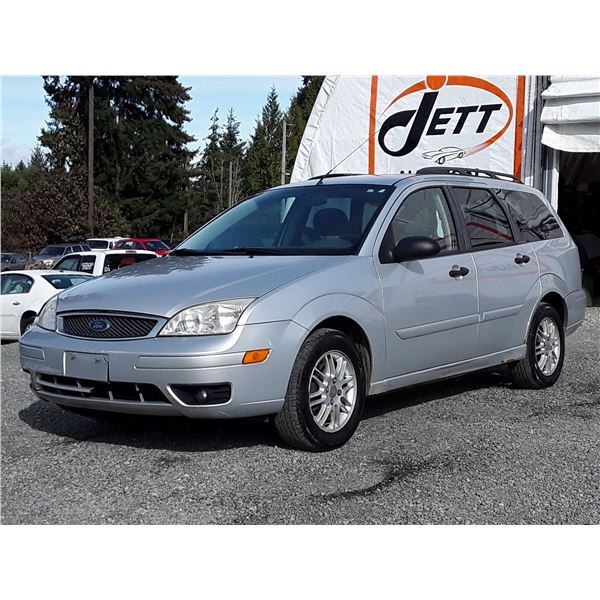 """A10 --  2005 FORD FOCUS ZXW  , Silver , 330864  KM's  """"NO RESERVE"""""""