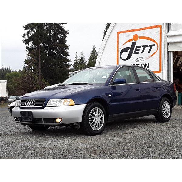 C2 --  2001 AUDI A4 2.8 QUATTRO , Blue , 155705  KM's