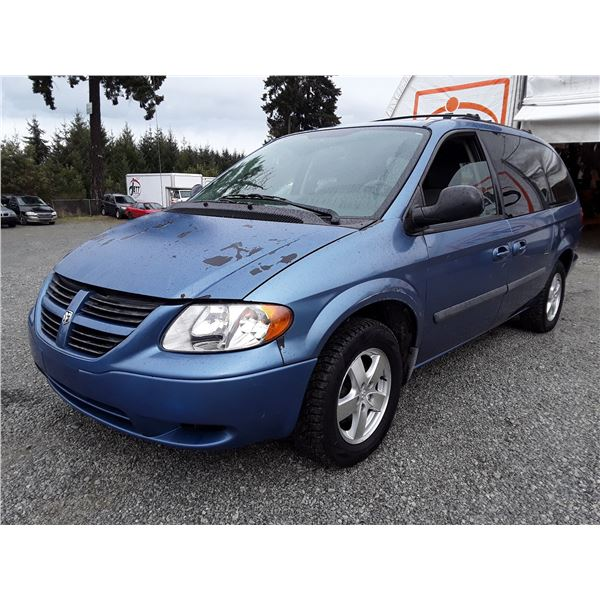 J3 --  2007 DODGE GRAND CARAVAN SE , Blue , 192037  KM's