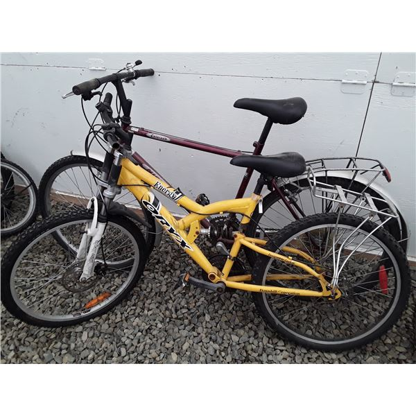 0K --  Lot of Two Bike Yellow ORYX Red Colorado