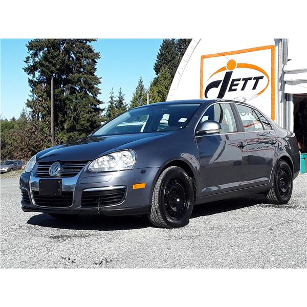 "A9 --  2010 VW JETTA TDI  , Grey , 401201  KM's  ""NO RESERVE"""