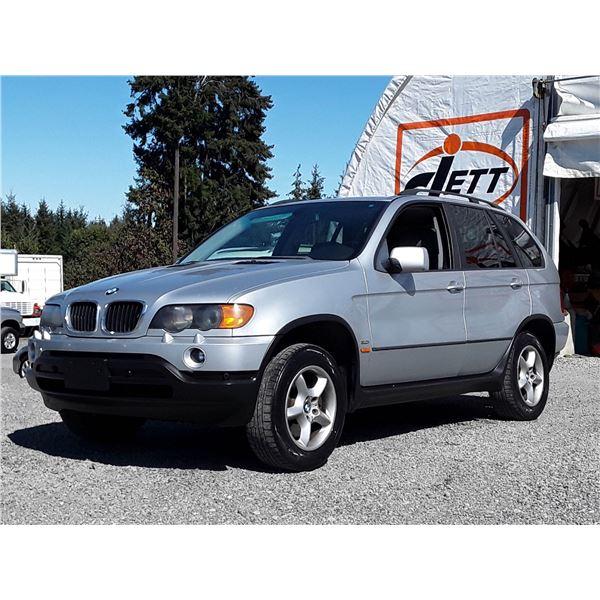 I1 --  2003 BMW X5 3.OI  , Silver , 219332  KM's