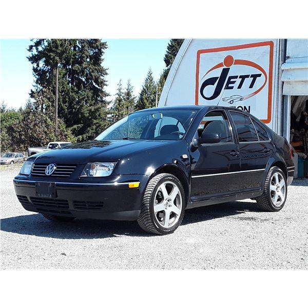B5 --  2007 VW CITY JETTA , Black , 283398  KM's
